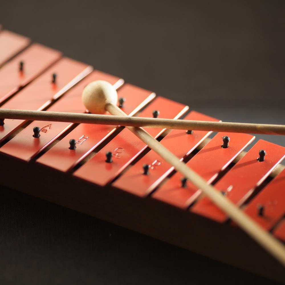 木琴、鐵琴、鐘琴